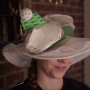Becky Stern Makes a Tumor-Rejecting Hat for Simone Giertz