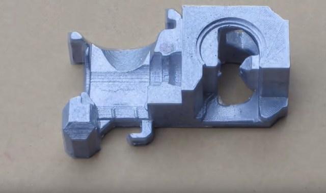 Casting Aluminum Parts from 3D Prints