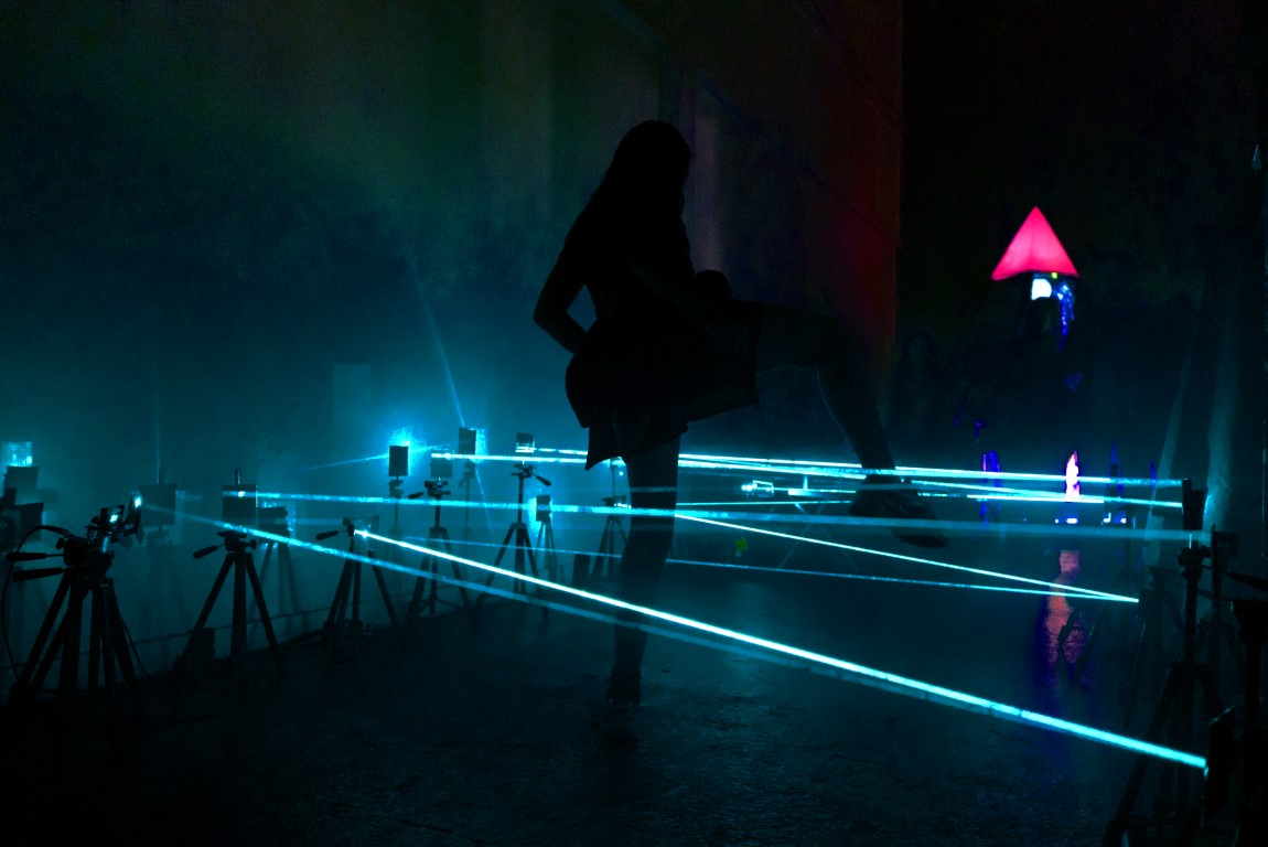 Perfect Your Evasion Skills With A Laser-Armed Maze