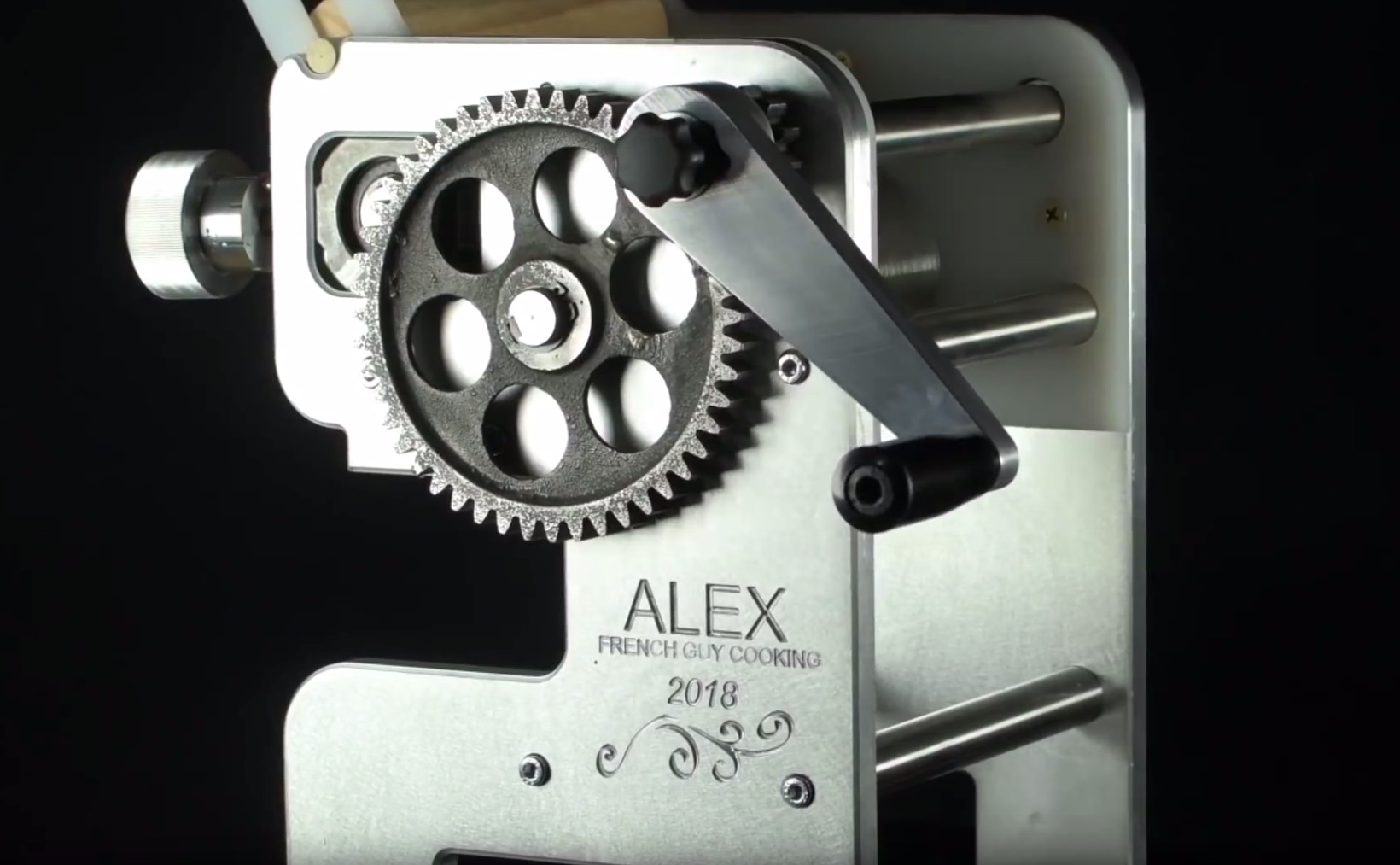 This Old Tony Builds a Pasta Machine for Alex French Guy Cooking