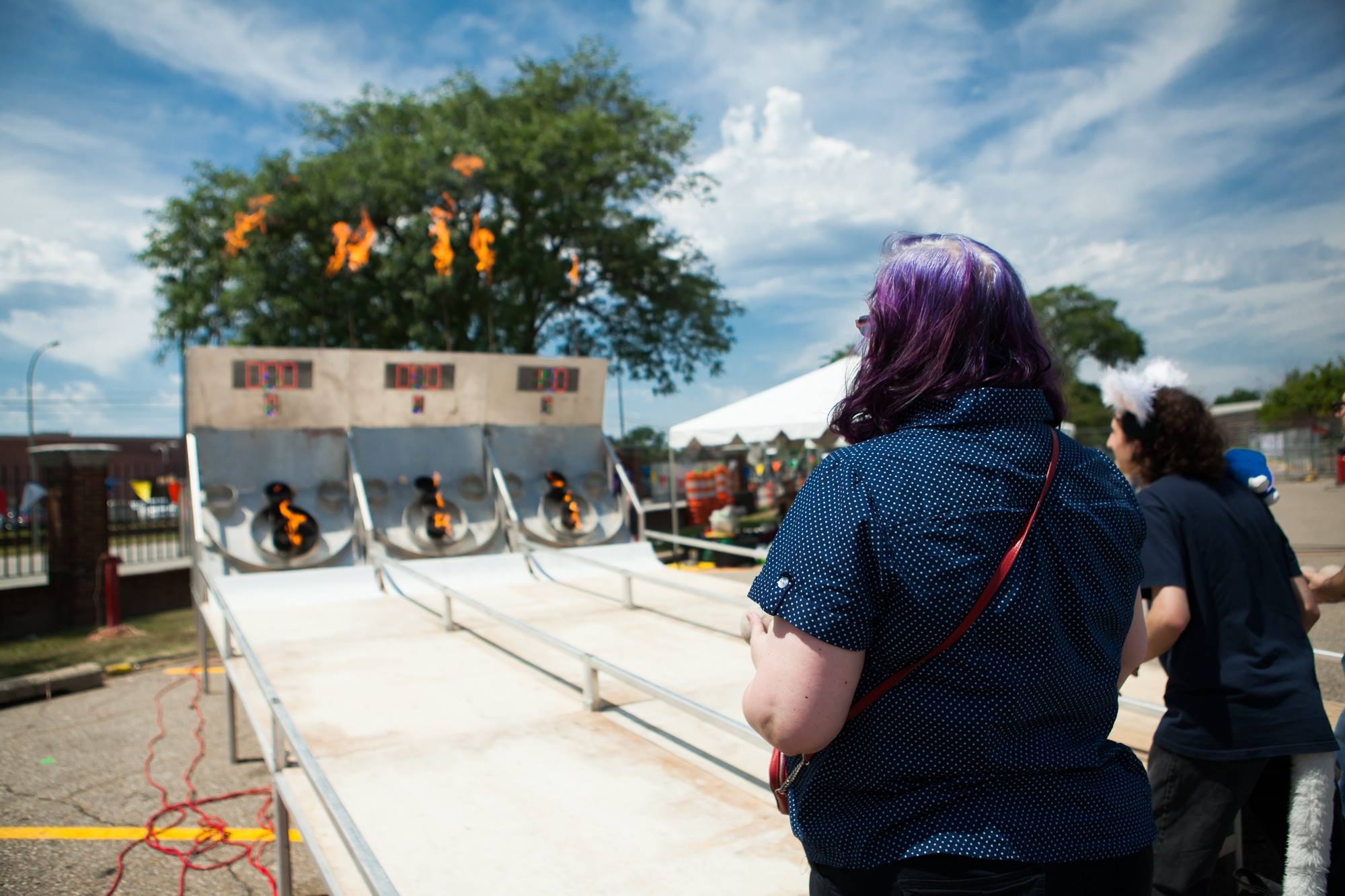 Fire-Breathing Dragons, Vintage Synths, and Liquid Nitrogen at Maker Faire Detroit