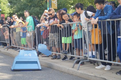 Dr. Who's canine companion woos some kids
