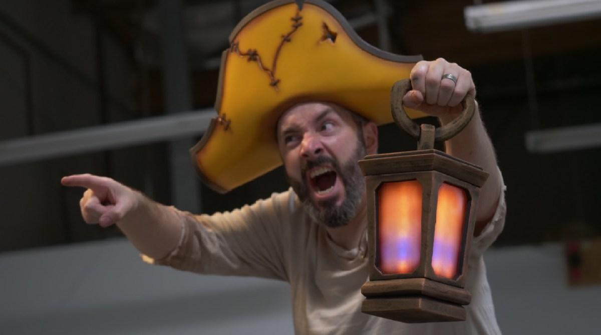 Making a Lantern Prop in EVA Foam in Four Hours