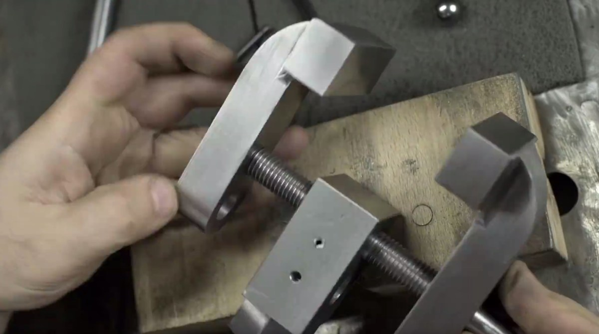 Making a Bench Vise/Clamp Thingy with This Old Tony