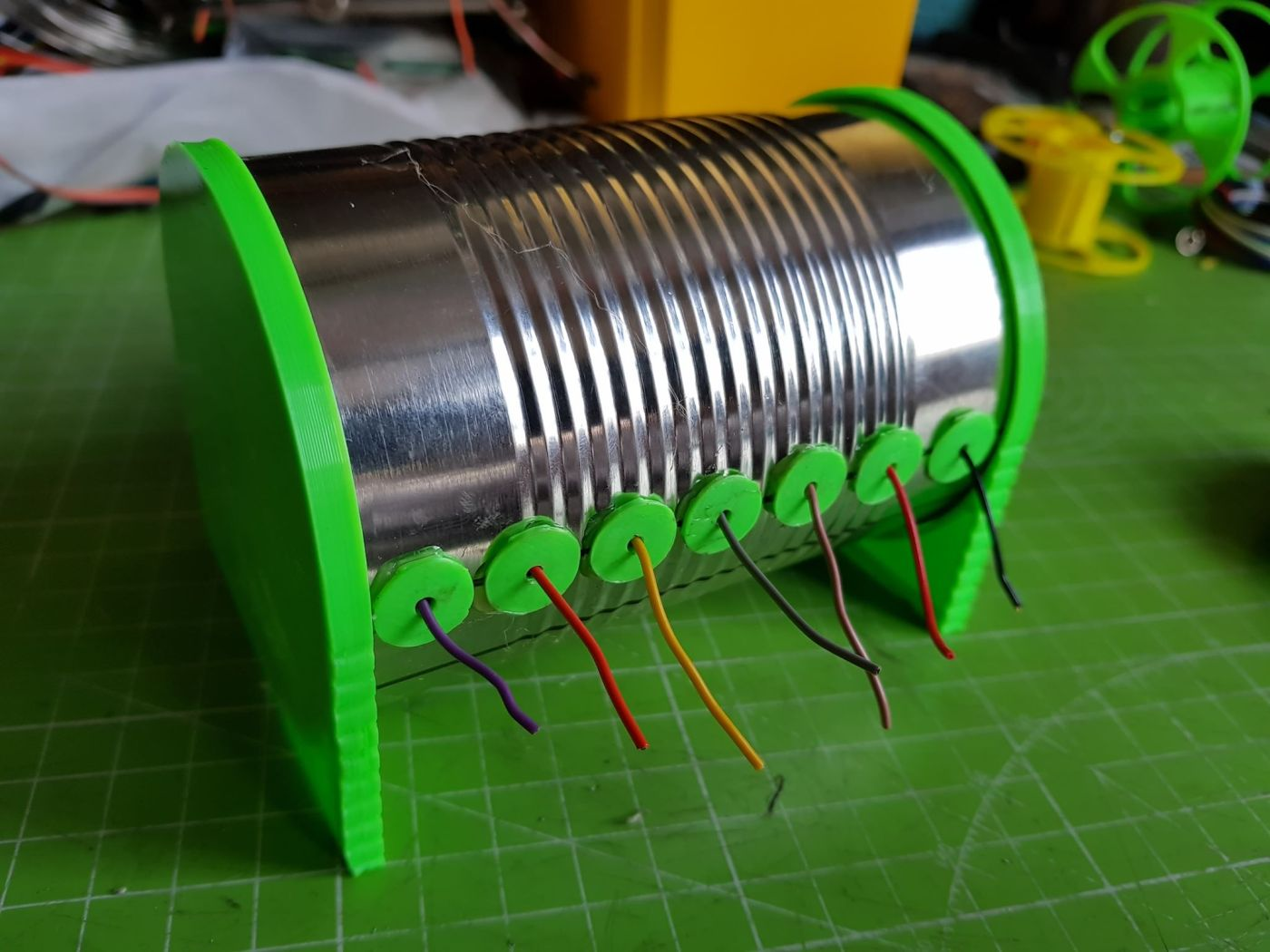 Tips Of The Week Soaking Out Rust Picking An Arduino Wire Yaflc Yet Another Flickering Led Candle Using Tiny45 Microcontroller Wrangling Reorganize And Be Happy Iot Expert