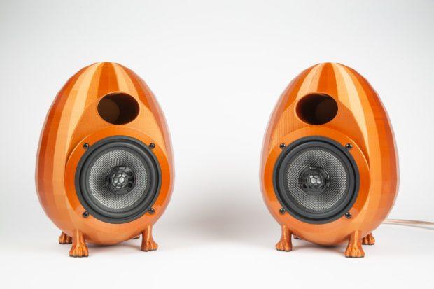 3D Printed Egg Speakers | Make: