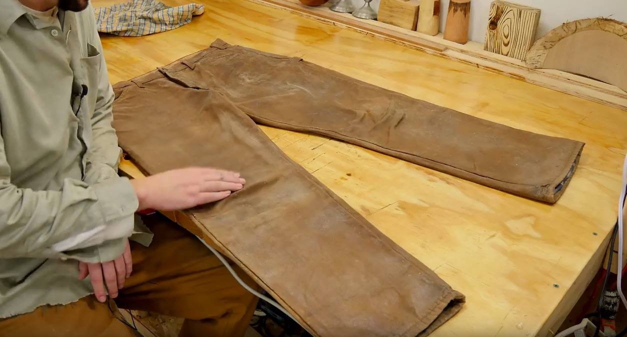 """How to Make Your Own """"Tin Pants"""""""
