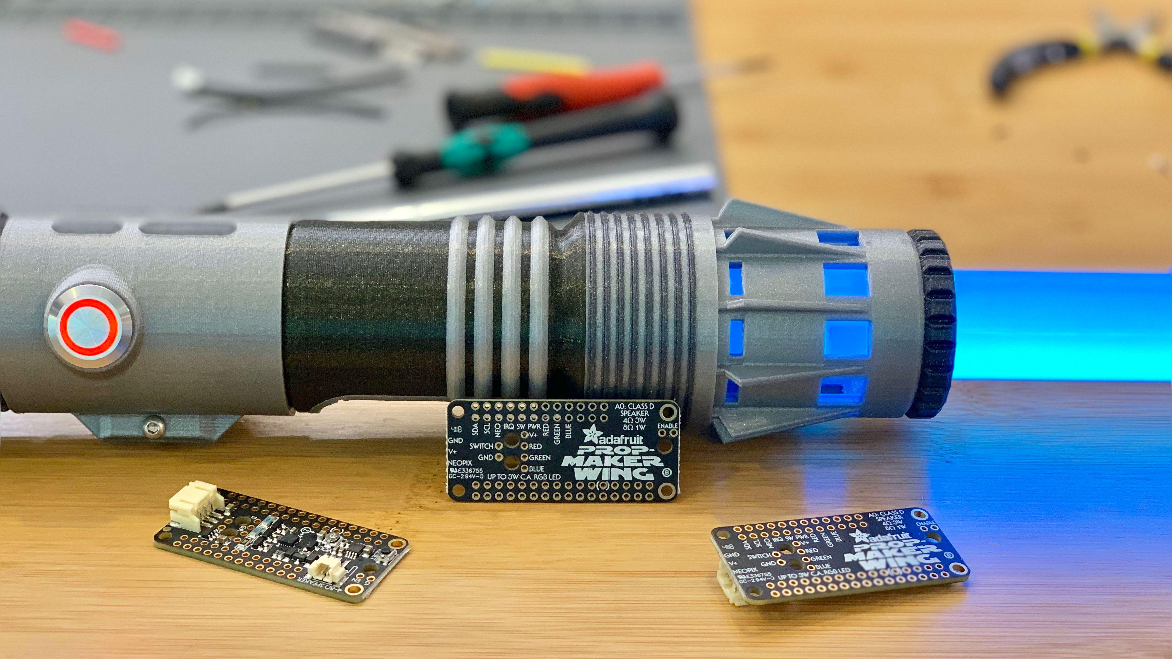 Prop Building Gets Easy With the Adafruit Prop-Maker FeatherWing