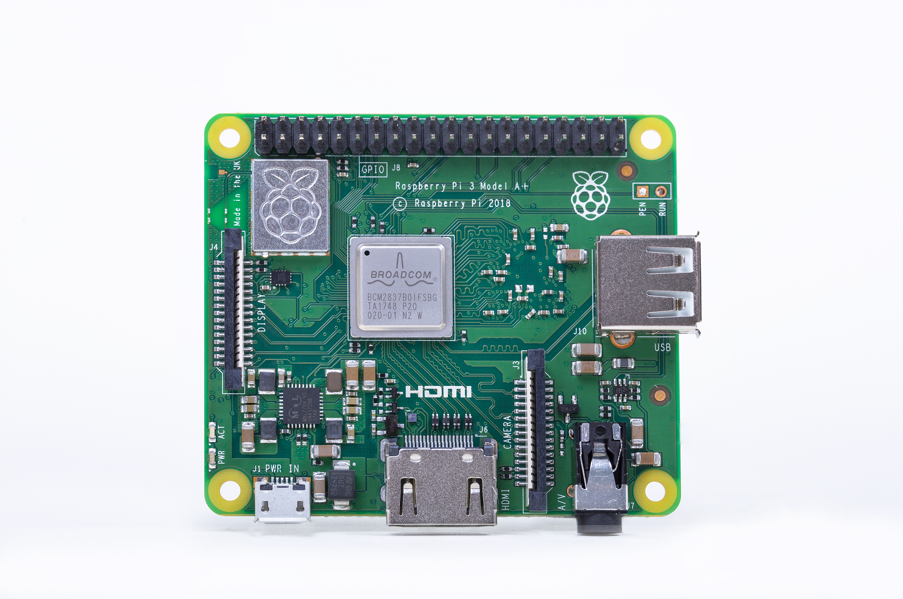 Slightly Smaller, Just as Powerful: Raspberry Pi Launches Pi 3 Model A+