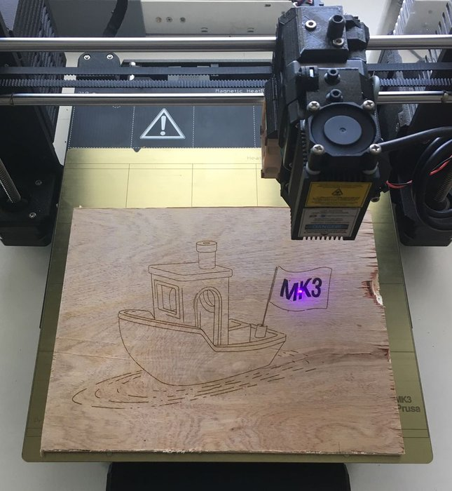 How to Upgrade Your 3D Printer With a Laser Engraver | Make: