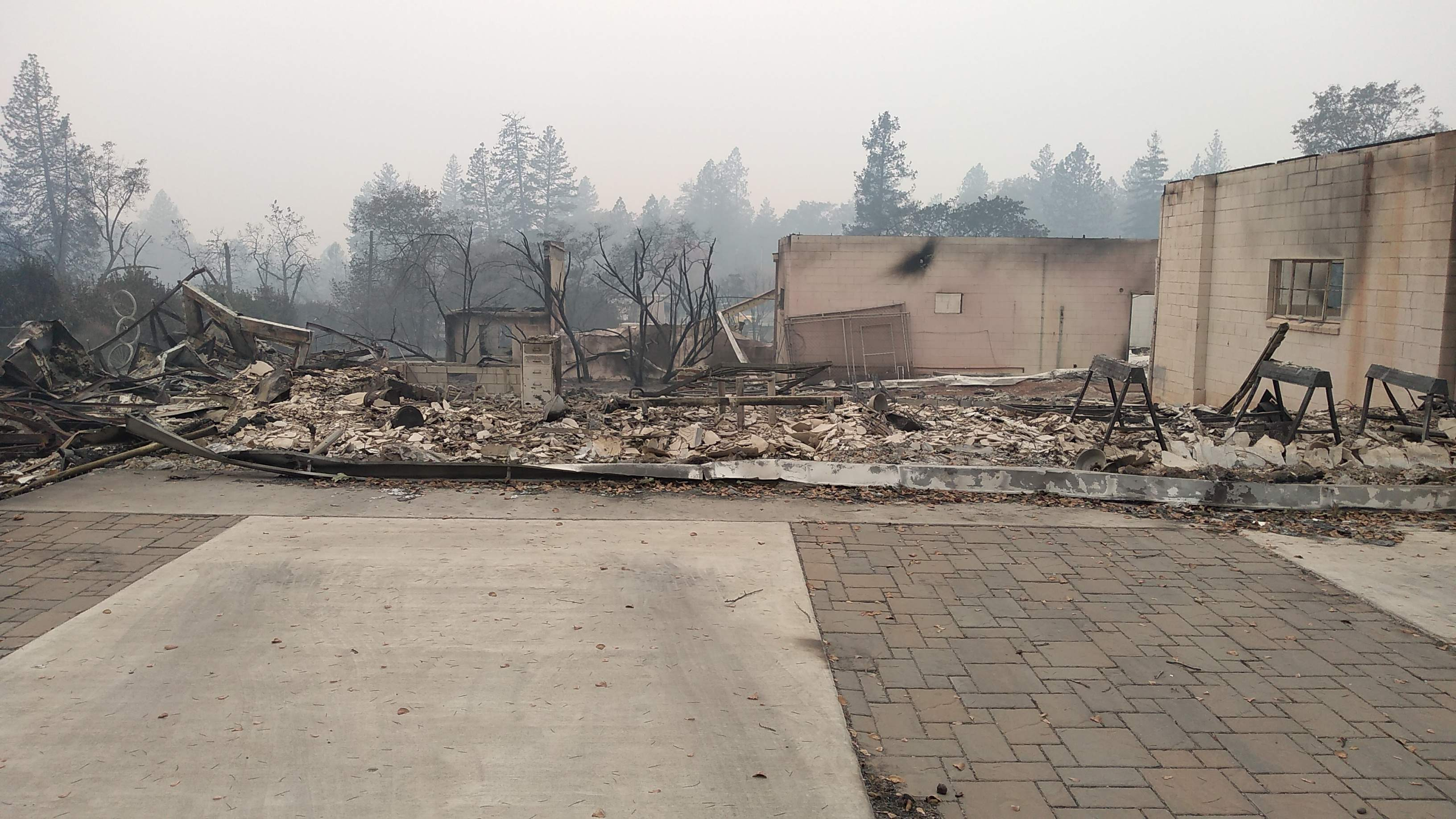 Losing a Makerspace in the Paradise Wildfire