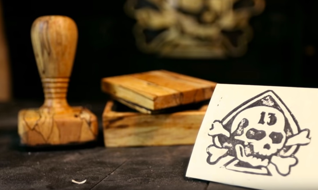 Making a Handmade Rubber Stamp and Ink Box | Make: