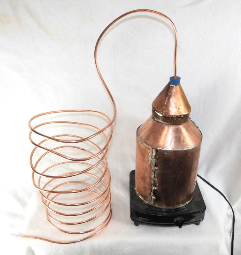 Remaking History: Build Your Own Copper Still