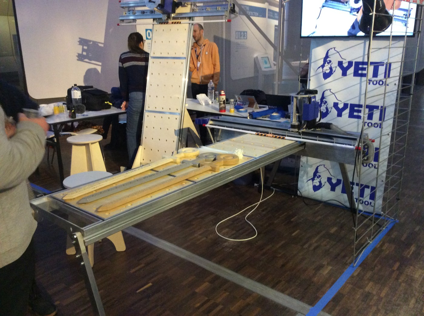 the latest 9f822 9bff2 The Yeti Smart Bench Is a Full-Sheet CNC Router That Assembles in 5 Minutes  – IoT Expert