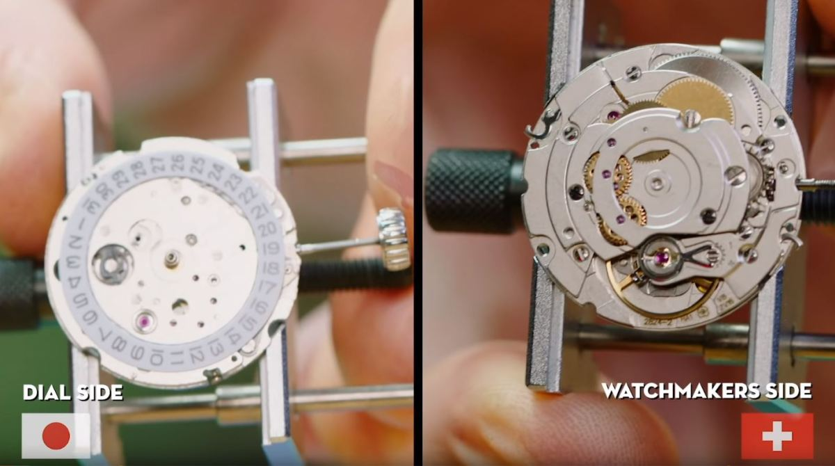 Follow Along As a Watchmaker Compares Japanese and Swiss Construction