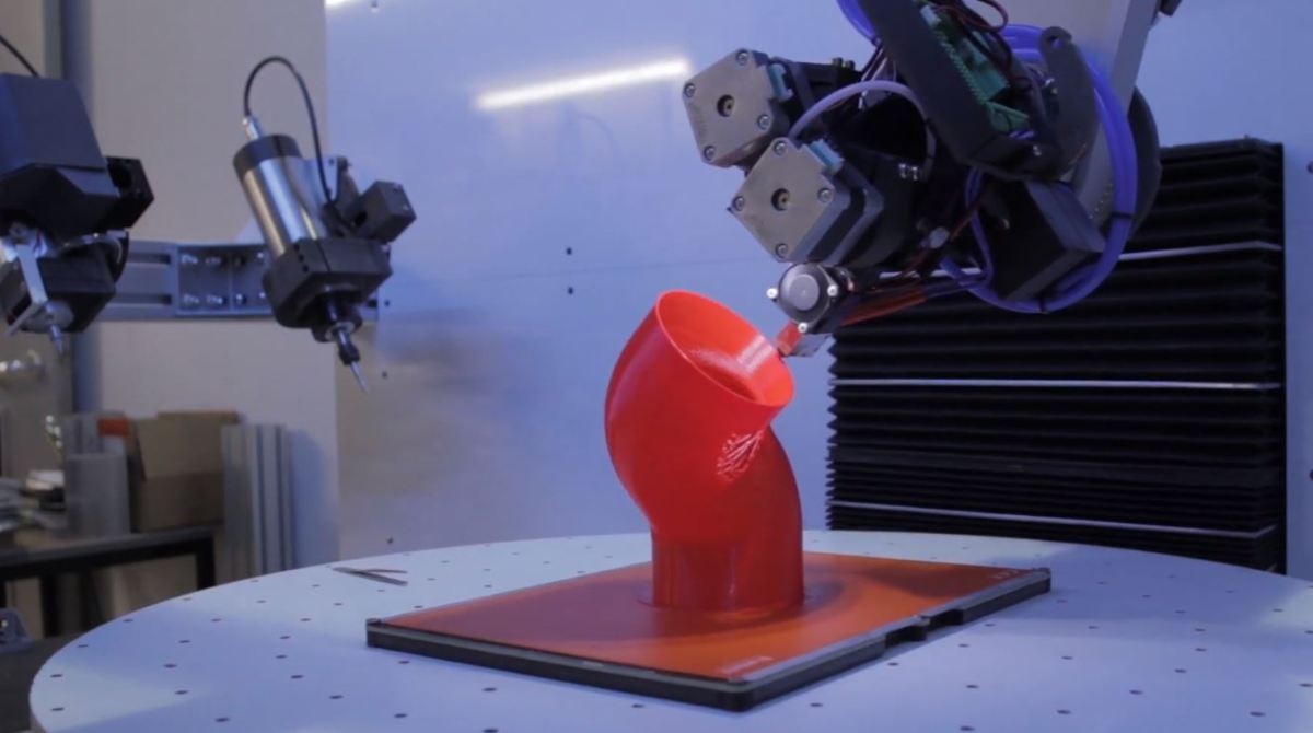 5 Axis 3D Printing Brings New Possibilities