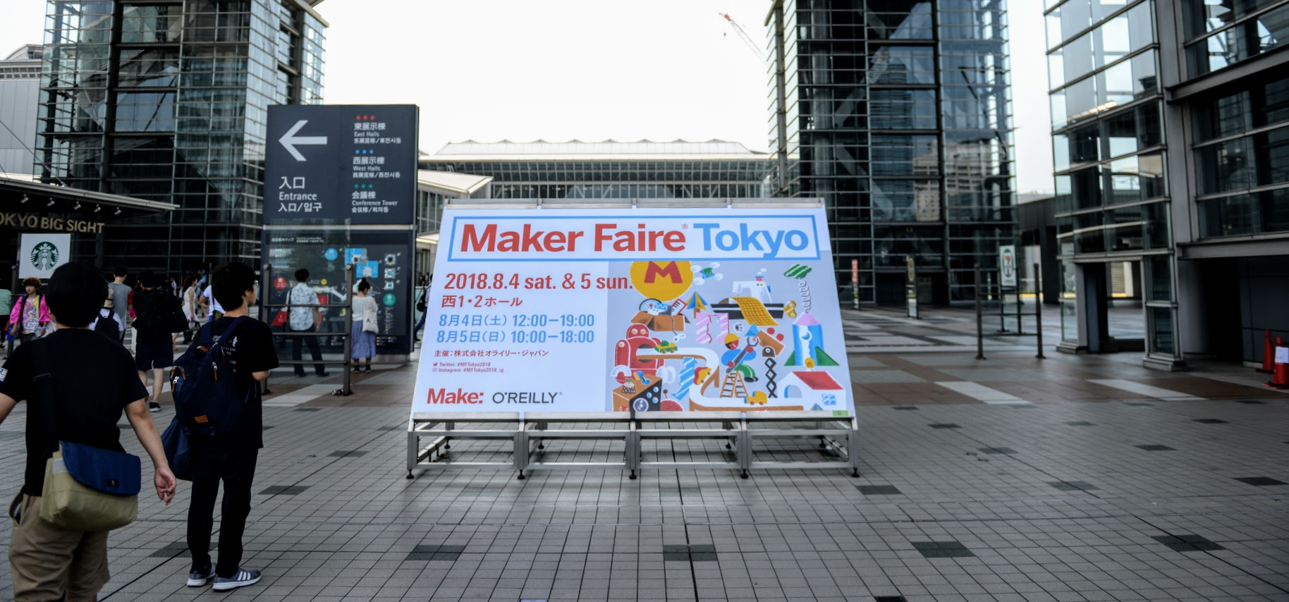 The Sights and Sounds of Maker Faire Tokyo