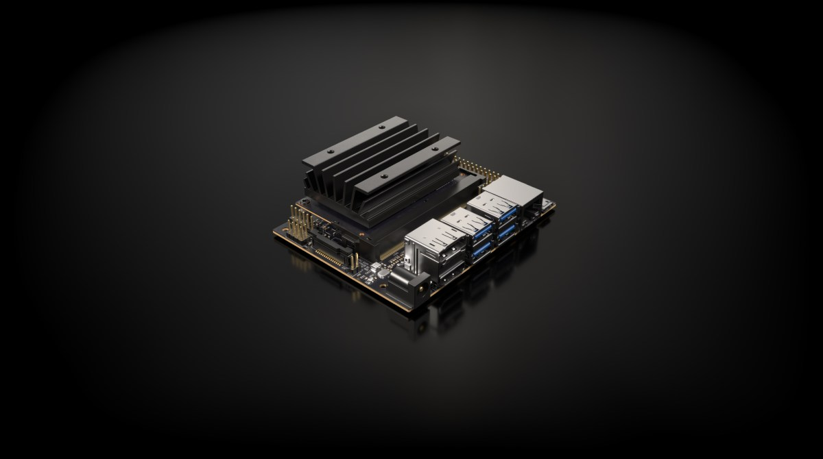 Nvidia Launches $99 Jetson Board for Makers, Self-Training Robot Software