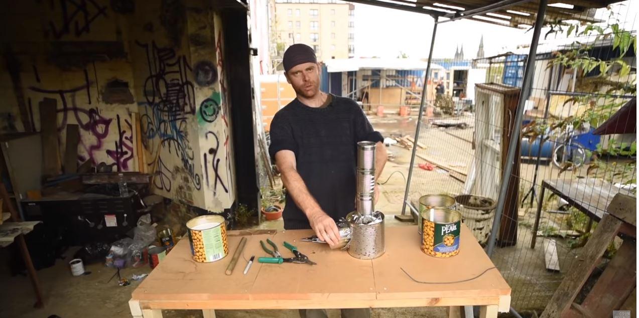 Construct A Super Cheap Rocket Stove From Scrap Materials