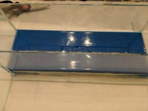 Mold drying in plexiglass form. Photo courtesy of John Wigner