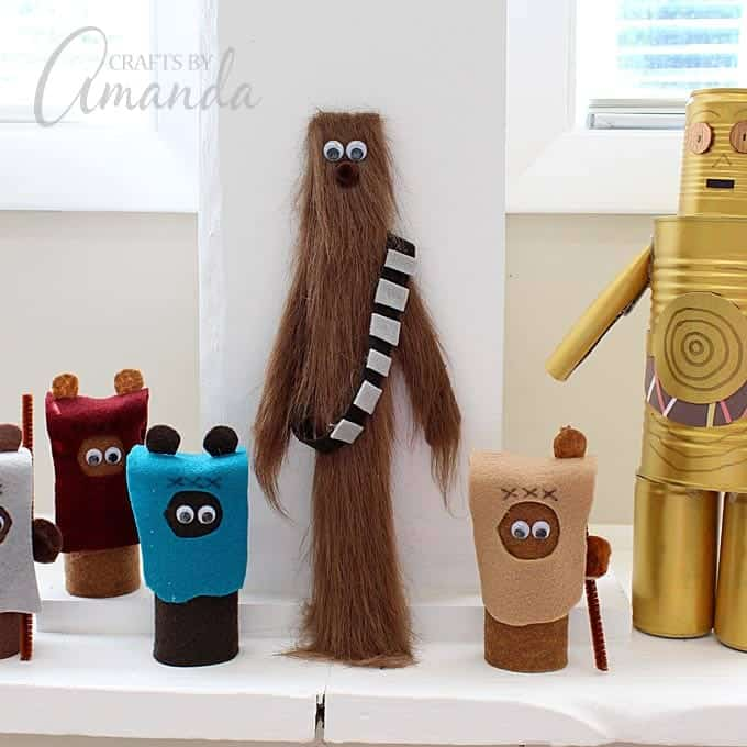 Craft A Pocket Chewbacca To Take To The Star Wars Premiere