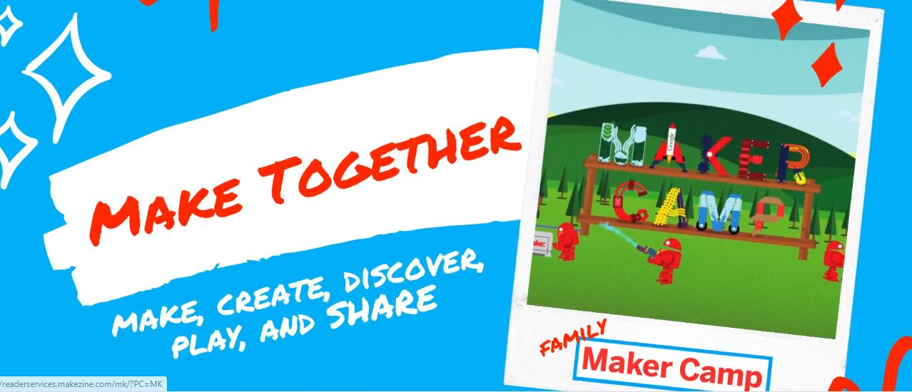 Maker Camp Is Here, It's Free, And It's Chock Full Of Projects