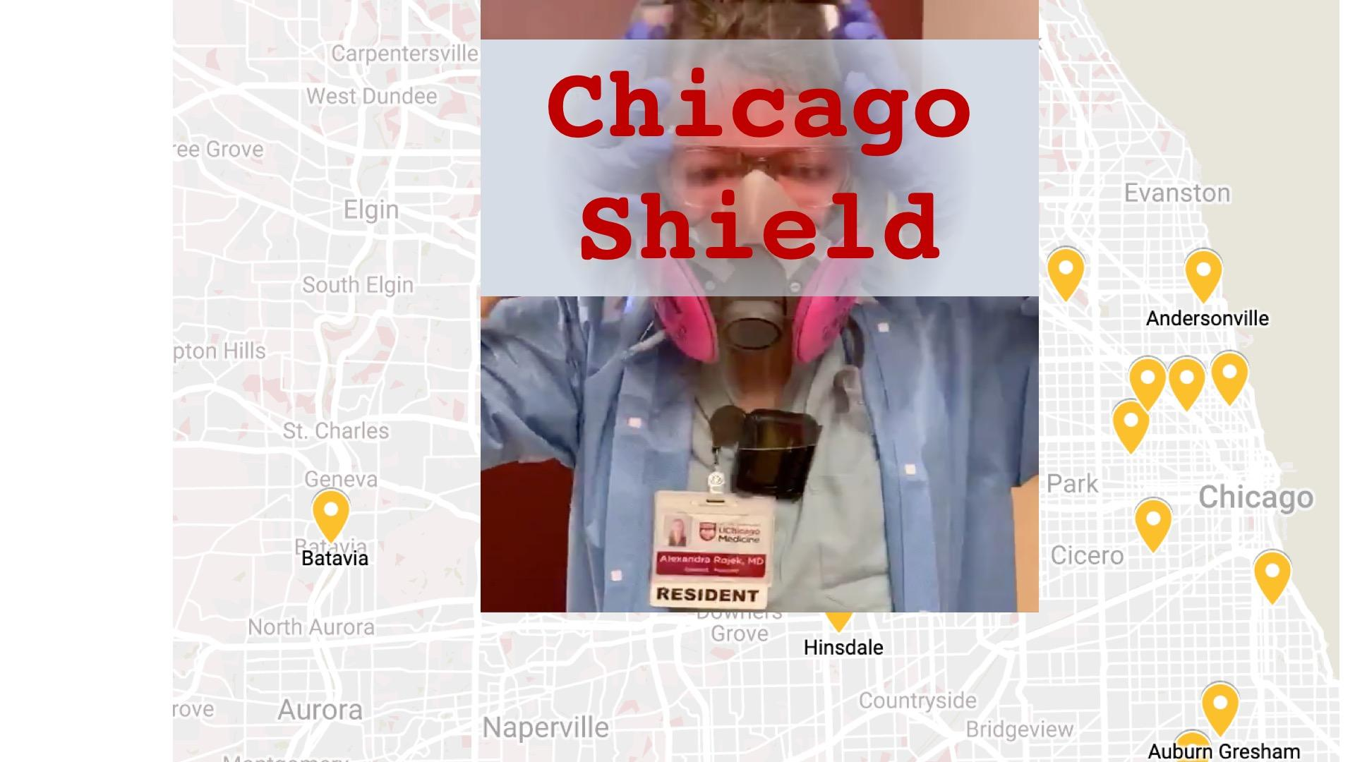 Plan C: Chicago Shield Part 2 — The Solin Flat Pack Face Shield