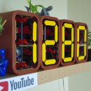 This Intricately Geared 7-segment Display Gives a Gorgeous View Of Your Subscriber Count