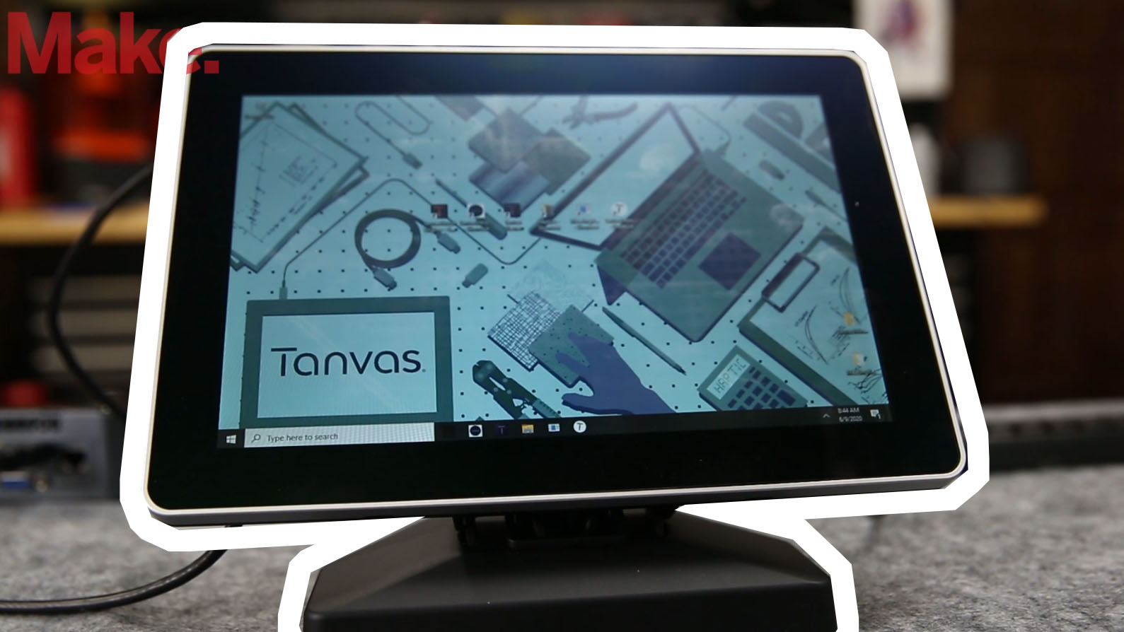 Quick Look: Tanvas Haptic Touch Screen