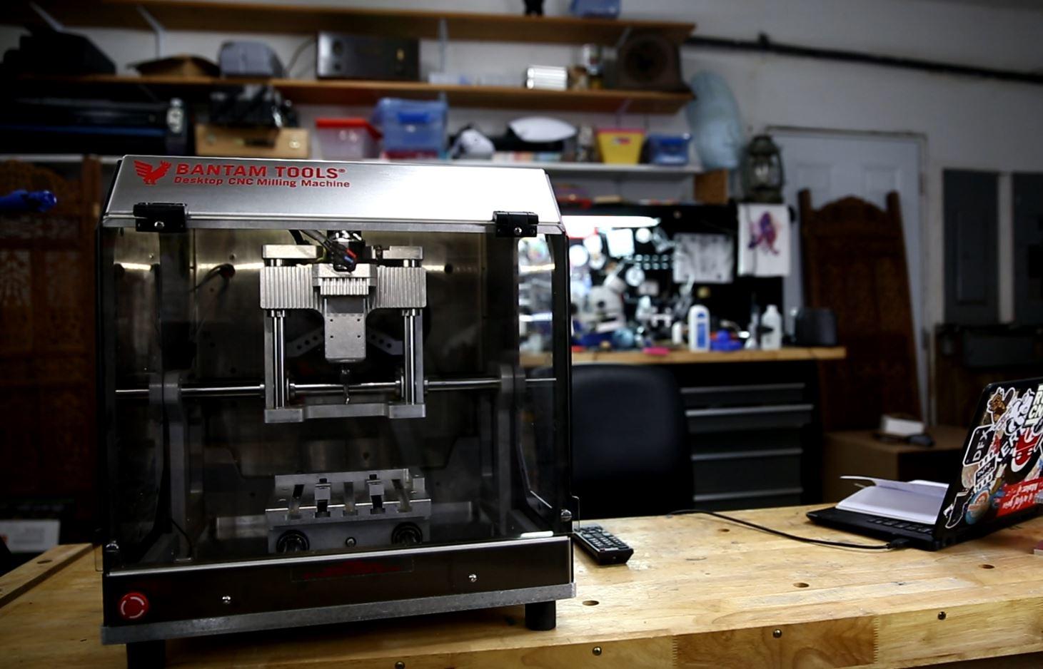 First Impressions of The Bantam Desktop CNC Mill