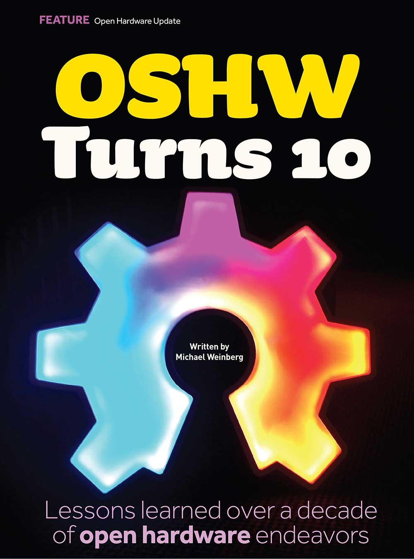 Make:Cast – Ten Years of Open Source Hardware