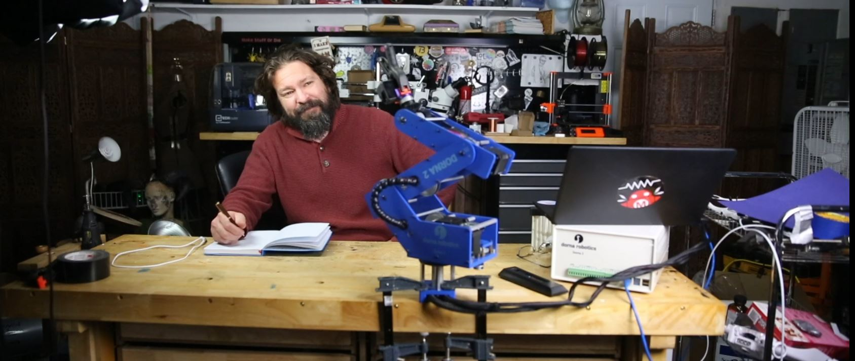 What Would You Do With A Robot Arm On Your Workbench?