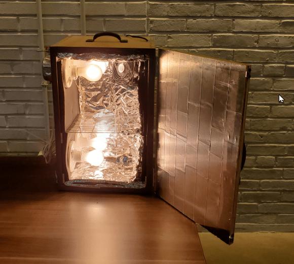 Making And Testing A Cheap DIY Heat Box For Sanitizing Masks