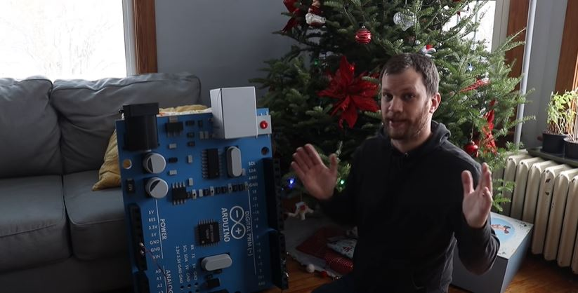 This Giant Arduino Actually Works… Kind Of