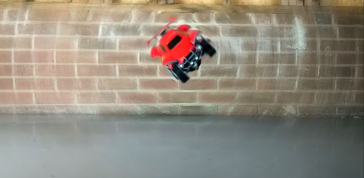 Bringing Rocket League To Life With A Jumping Car