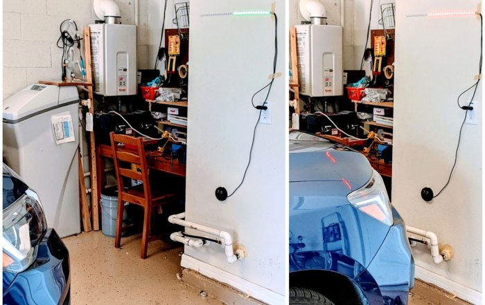 Arduino Powered Garage Parking Sensor