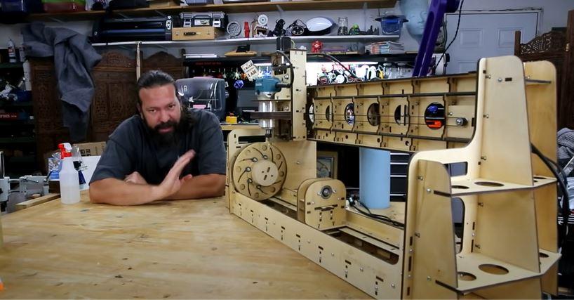 Quick Look: Bob's CNC Revolution Rotary Mill