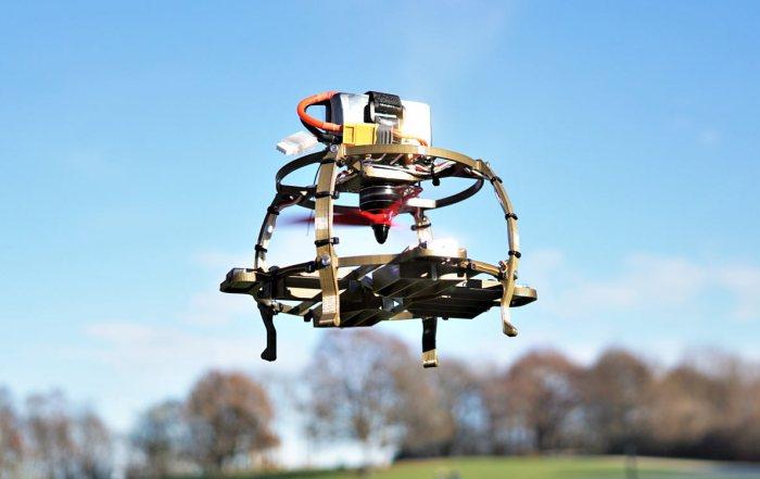 """Single Rotor """"Ball"""" Drone Mk II"""