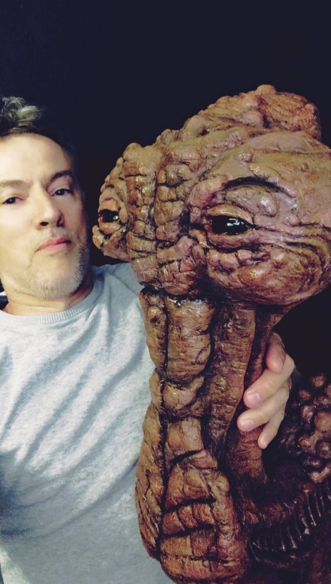 The Star Wars Cantina Bar Creature Project: 'Hammerhead'