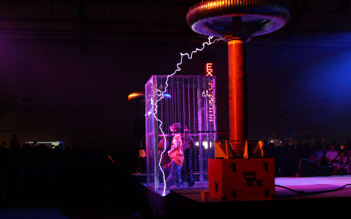 High Voltage! Put Safety First During Your Tesla Coil Performance