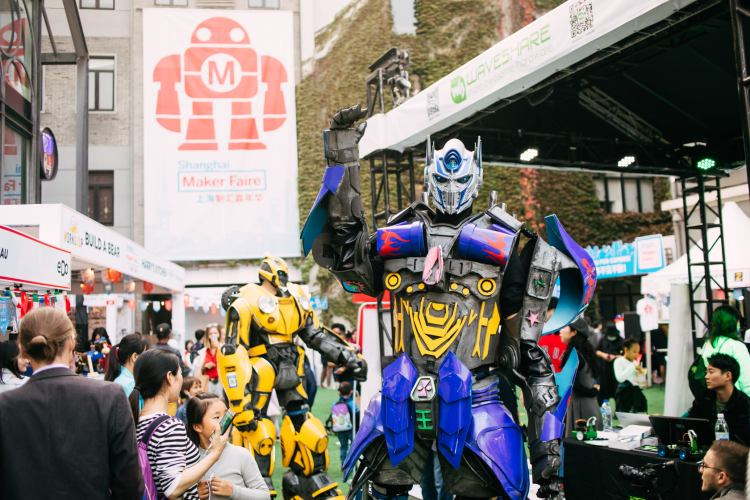 The Future Is Full Of Bright Ideas + Big Robots At Maker Faire Shanghai 2021 featured image