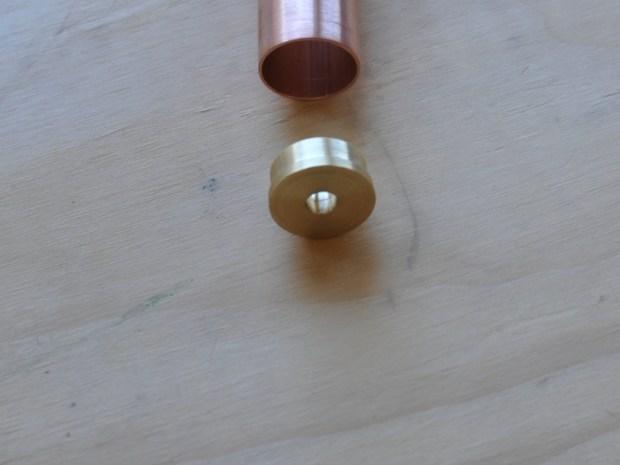 Copper Pipe Alcohol Lamp