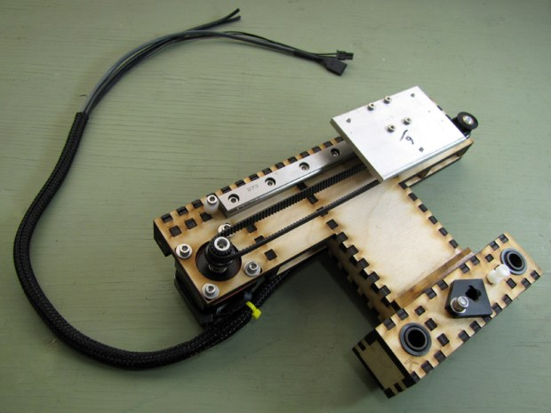 The MakerGear Mosaic 3D Printer – Part II: The Y-Axis