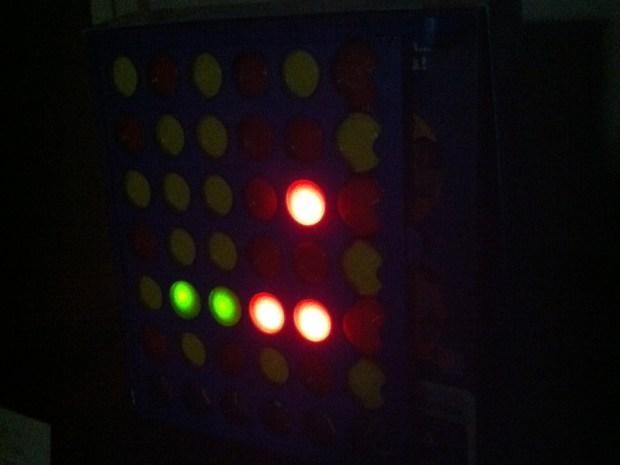 Connect 4 Binary Clock