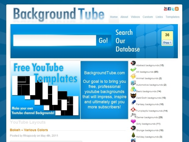 Make a YouTube Channel Background