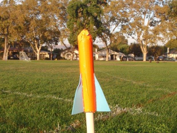 High-Pressure Foam Rocket