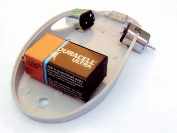 Mousey the Junkbot
