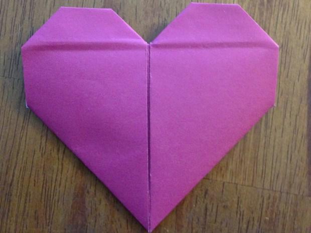 Origami Valentine Heart