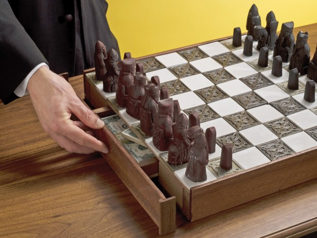 Secret Chessboard Compartment