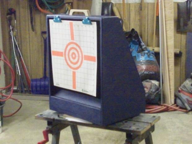 Airsoft Gun Target Holder & BB Catch
